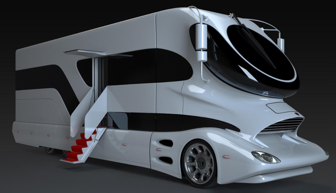 Kia Mobile Al >> Duurste camper ter wereld; dit is hem; heerlijk ding!
