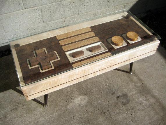 Wood nintendo bank