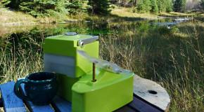 Portable koffiezetapparaat