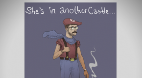 Super Mario Bros Hipsters.