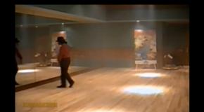 Zeldzame footage Michael Jackson
