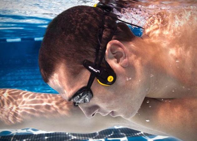 onderwater mp3 speler