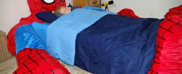 Spider-Man bed!
