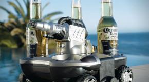 Amfibieus-bier-breng-voertuig