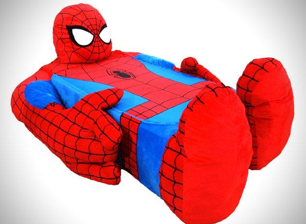 spider man beddje